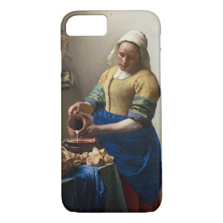 The Milkmaid by Johannes Vermeer iPhone 8/7 Case