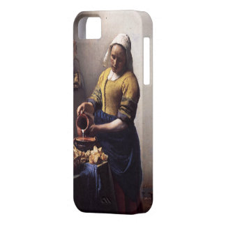 The Milkmaid by Johannes Vermeer iPhone SE/5/5s Case