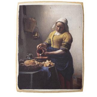 The Milkmaid by Johannes Vermeer Jumbo Shortbread Cookie