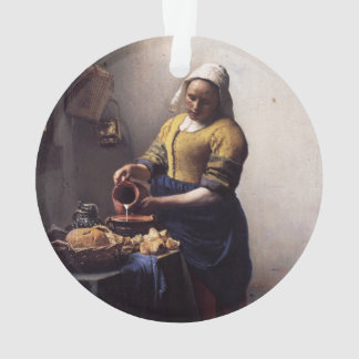 The Milkmaid by Johannes Vermeer Ornament