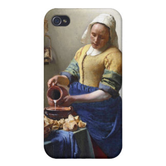 The Milkmaid, c.1658-60 (oil on canvas) iPhone 4/4S Cases
