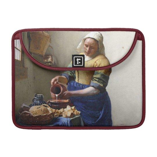 The Milkmaid, c.1658-60 (oil on canvas) Sleeve For MacBooks
