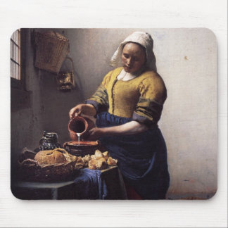 The Milkmaid Mouse Pad