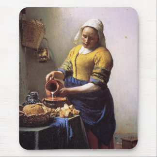 The Milkmaid Mouse Pads