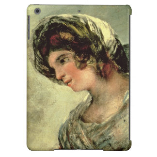 The Milkmaid of Bordeaux c 1824 oil on canvas iPad Air Cover