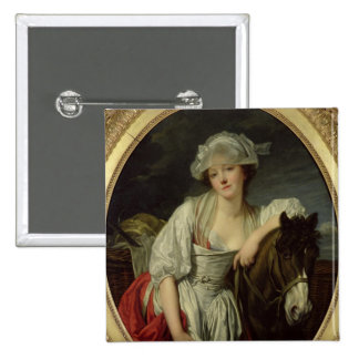 The Milkmaid Pinback Button