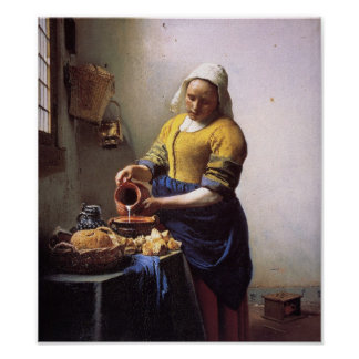 The Milkmaid Poster