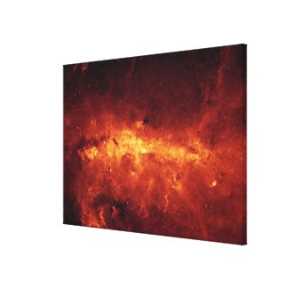The Milky Way center aglow with dust Canvas Print