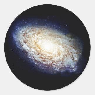 The Milky Way Classic Round Sticker