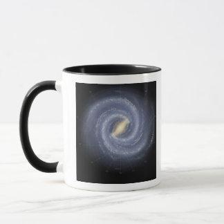 The Milky Way Galaxy (annotated) Mug
