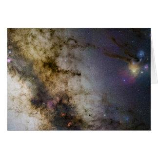 The Milky Way Galaxy Starscape Card