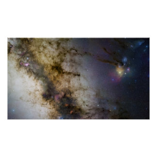 The Milky Way Galaxy Starscape Poster