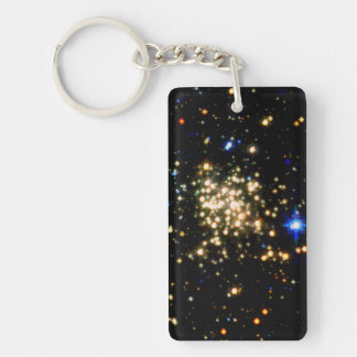 The Milky Way's Densest Star Cluster- The Arches Double-Sided Rectangular Acrylic Keychain