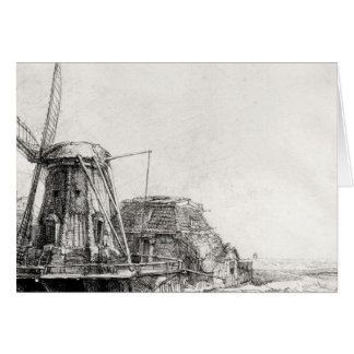 The Mill, 1641 Card