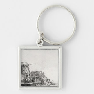 The Mill, 1641 Keychain