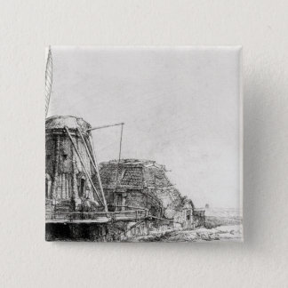 The Mill, 1641 Pinback Button