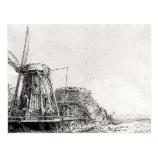 The Mill, 1641 Postcard