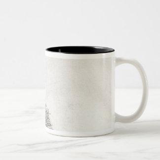 The Mill, 1641 Two-Tone Coffee Mug