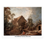 The Mill By Francois Boucher Post Card