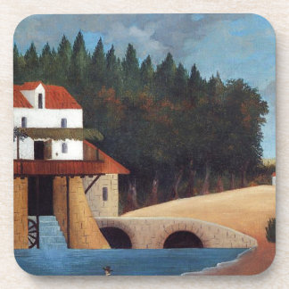 The Mill by Henri Rousseau Drink Coaster