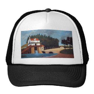 The Mill by Henri Rousseau Trucker Hat