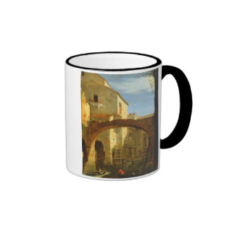 The Mill (oil on canvas) Mugs