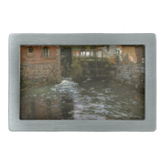 The Mill Pond by Frits Thaulow Belt Buckle