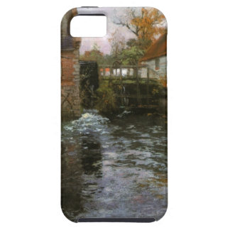 The Mill Pond by Frits Thaulow iPhone SE/5/5s Case