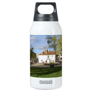 The Mill Pub and Mill Pond in Cambridge Insulated Water Bottle