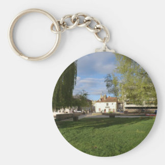 The Mill Pub and Mill Pond in Cambridge Key Chains