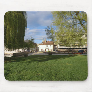 The Mill Pub and Mill Pond in Cambridge Mouse Pad
