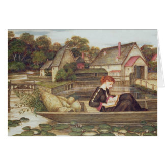 The Mill (w/c) Greeting Card