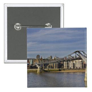 The Millennium Bridge Pinback Button
