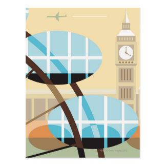 The Millennium Wheel Postcard
