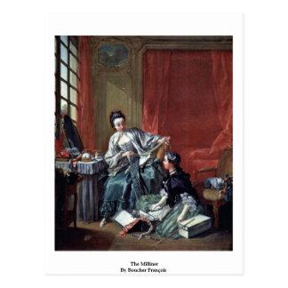 The Milliner By Boucher François Postcard