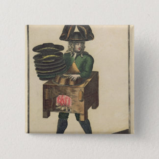 The Milliner's Costume Button