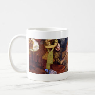 The Millinery Shop by Alfred Sisley Coffee Mug