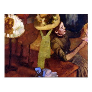 The Millinery Shop by Alfred Sisley Postcards