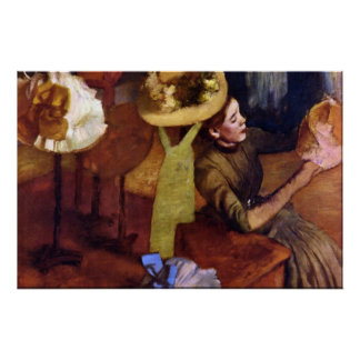The Millinery Shop by Alfred Sisley Print