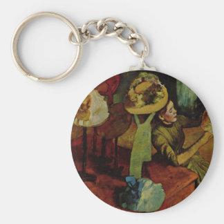 The Millinery Shop- Degas Key Chains