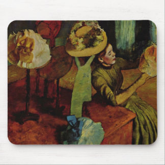 The Millinery Shop- Degas Mouse Pads
