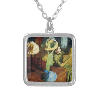 The Millinery Shop Silver Plated Necklace