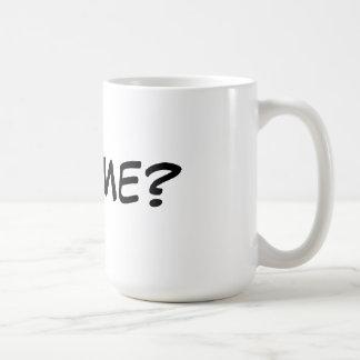The Million Dollar Question Classic White Coffee Mug