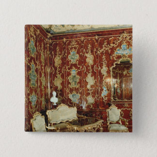 The Millionen Room panelled with fig wood inlaid Button