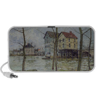The Mills at Moret-sur-Loing, Winter, 1890 Mini Speaker