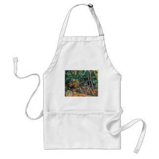 The Millstone By Paul Cézanne (Best Quality) Adult Apron