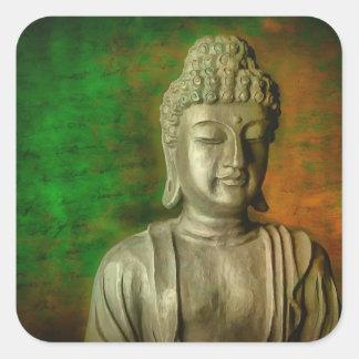 The Mind of Buddha Square Sticker