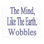 The Mind Wobbles2glitter Postcard