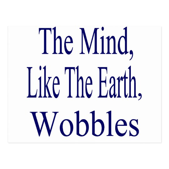 The Mind Wobbles Postcard