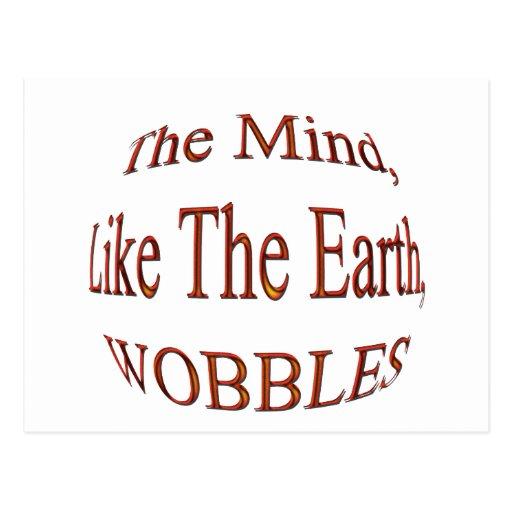The Mind Wobblesredbulge Postcard